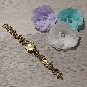 🕰 *RARE* Vintage Valentine's Charm Watch